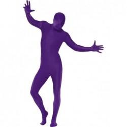 disfraz segunda piel morado