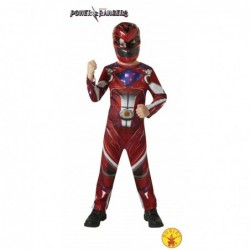 DISFRAZ RED RANGER MOVIE...