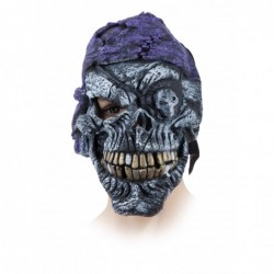 Mascara de esqueleto pirata