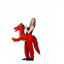 DISFRAZ DRAGON ROJO ADULTO