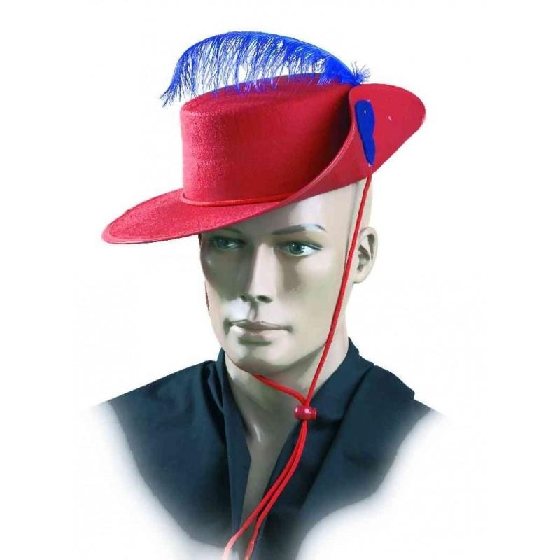 Compre sombrero mosquetero fieltro adulto en Dobar Disfraces y recíbalo en  24 48 horas en su domicilio. b6ba615ee6d