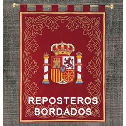 REPOSTEROS BORDADOS