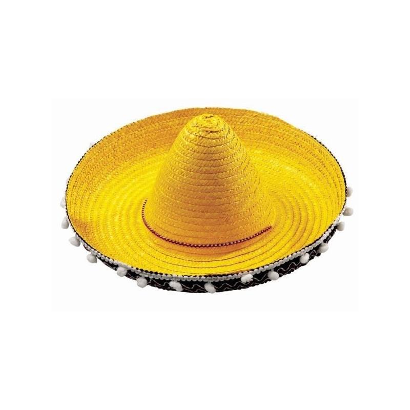 Compre sombrero mejicano niño 45 cm. en Dobar Disfraces y recíbalo en 24 48  horas en su domicilio. f65fb3294ee