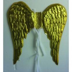 ALAS DE ANGEL DORADAS PVC.